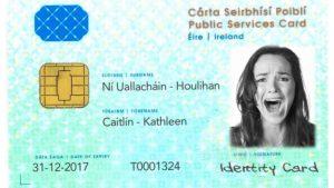 Public Services Card sample