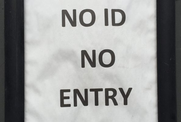 No ID No Entry