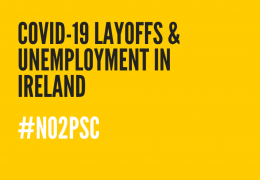 DRI and ICCL Call for Department of Employment Affairs and Social Protection to Suspend PSC Requirement for Jobseeker Applicants During COVID-19 Pandemic